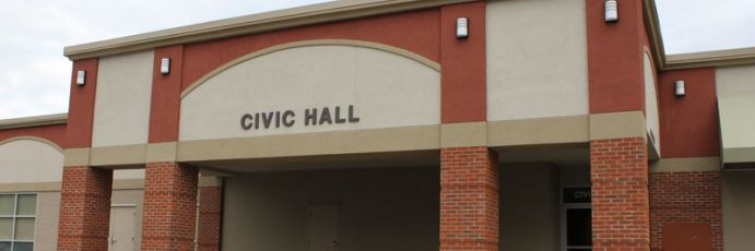 Civic Hall entrance